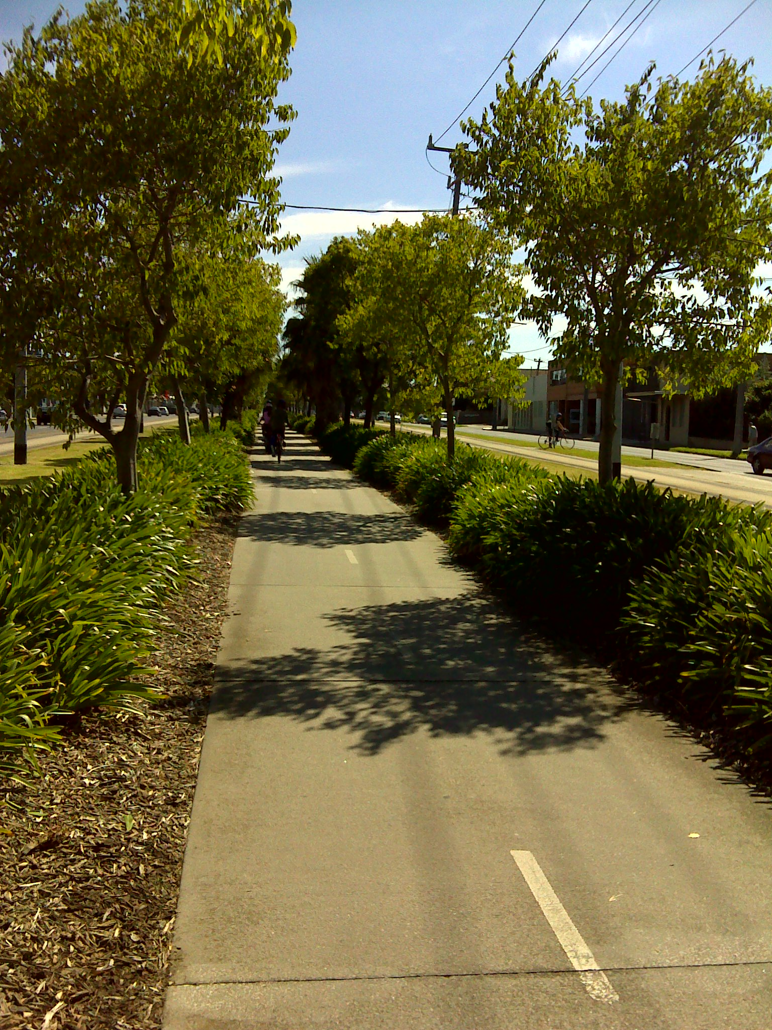 St Georges Road Bike Path